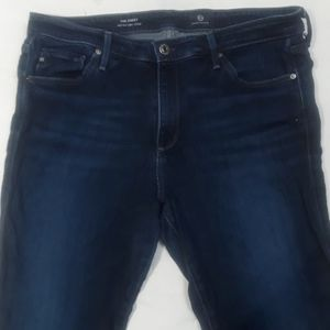 AG Mid Rise Skinny 32R Jeans